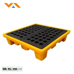 Oil / Chemical Spill pallet PSP-Z044 (4 Drum)