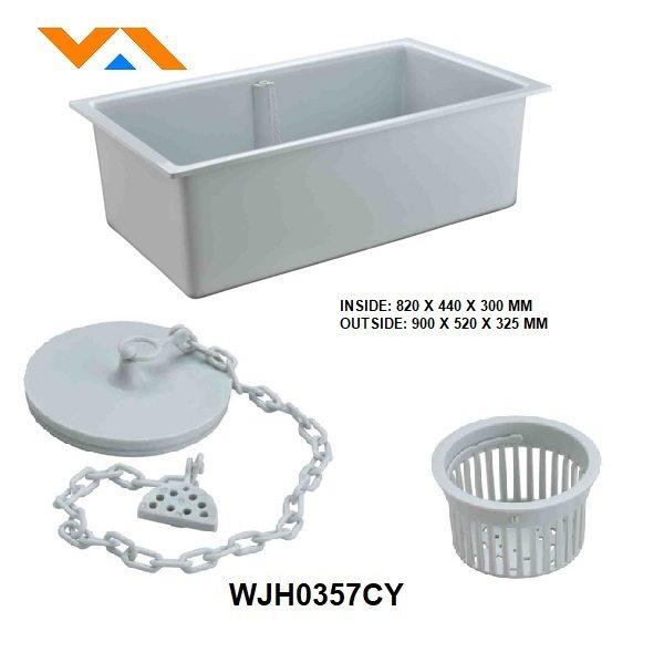 WJH0357CY-lab-fittings-PP-sink-grey
