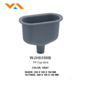 Laboratory PP Cup Sink WJH0356B / A /C