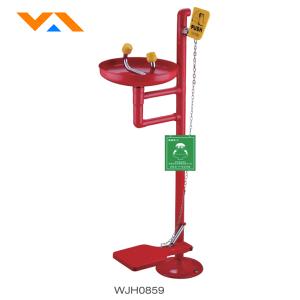 Stainless Steel Emergency Eye Wash (Foot treadle) – WJH0859