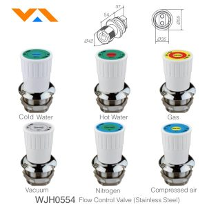 Van nước / khí tủ hút phòng thí nghiệm WJH0554