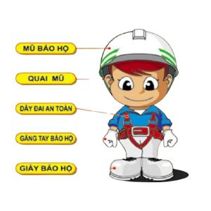 Các thành phần của một trang phục bảo hộ lao động, giúp cho an toàn lao động
