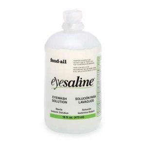 Honeywell Eyesaline Replacement Eyewash Refill Bottle, 16 oz.  320004540000